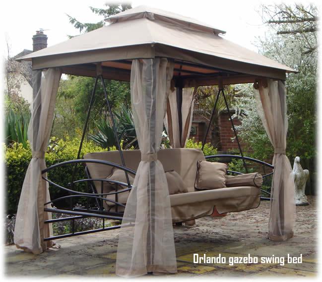 Orlando Luxor Style Luxury Garden Swing Seat Bench