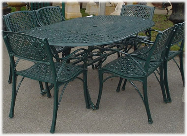 Garden furniture a great garden furniture range online uk Cast iron garden furniture