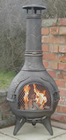 Castmaster Calico chiminea