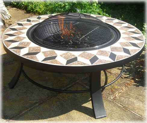 Fire pit table sale uk jamie oliver classic 4 seater for Concreteworks fire table